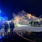 Brand in einem Recyclingbetrieb   26.02.2021